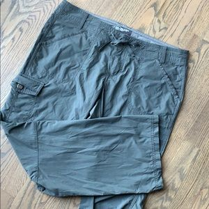 EUC REI cargo nylon hiking pant